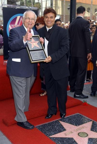 Juan Gabriel Gets Star On Walk Of Fame In Hollywood